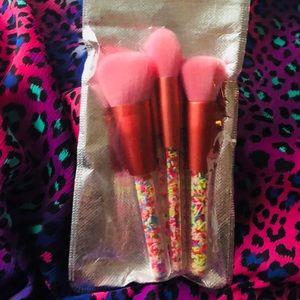 3-piece sprinkles brush set